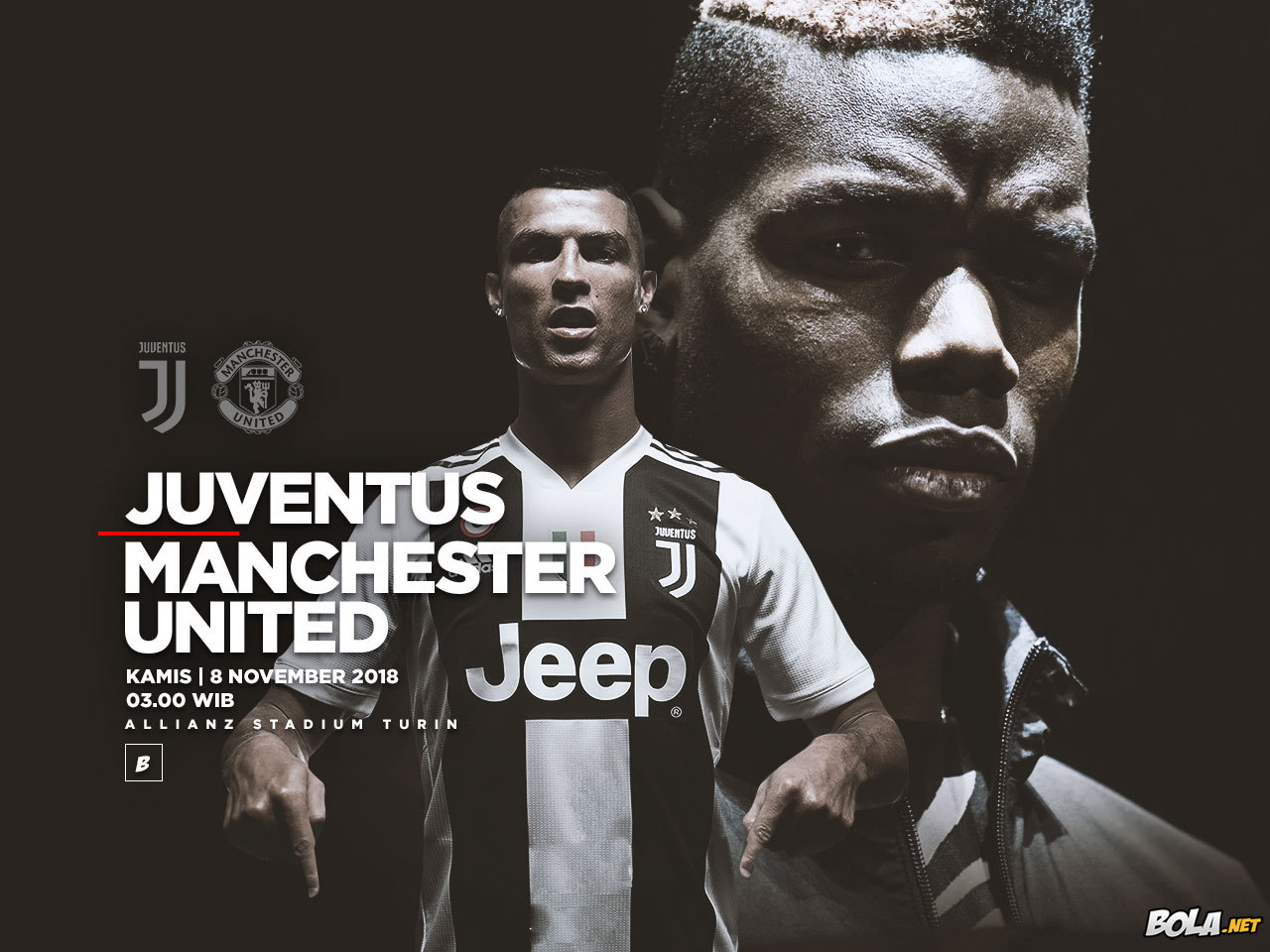 Juventus vs Manchester United